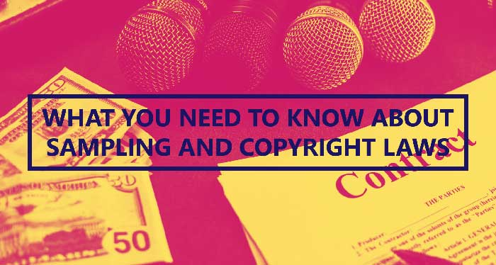 About sampling and copyright laws in Richmond, TX